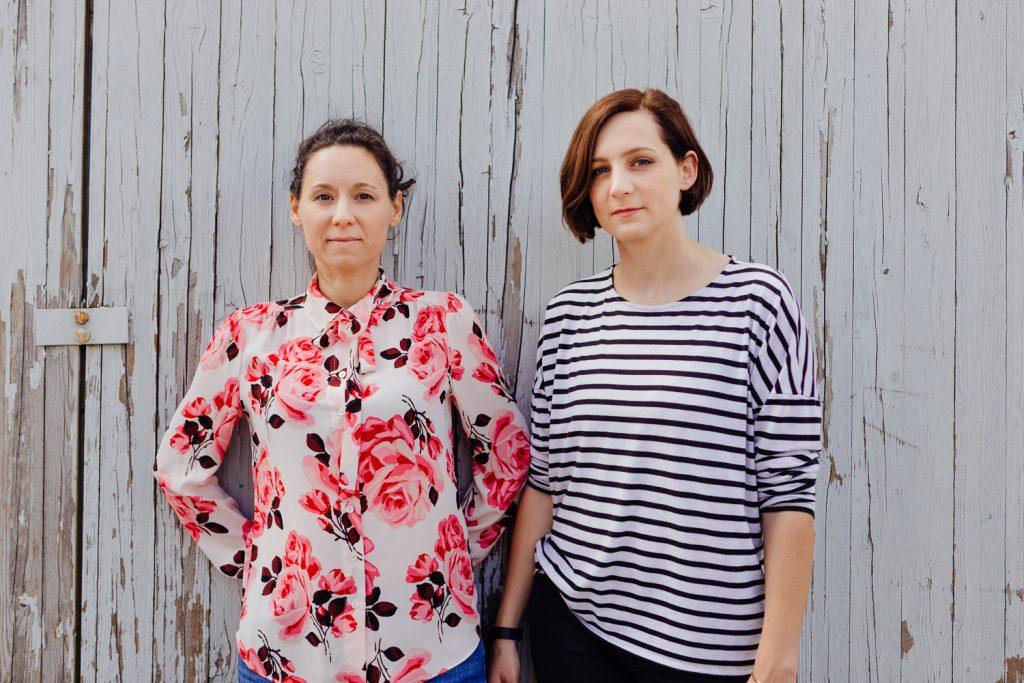 Mona Schnell und Jana Assauer