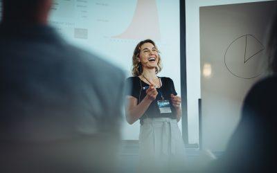 Interview mit Viola Restle zum Präsentieren von Zahlen